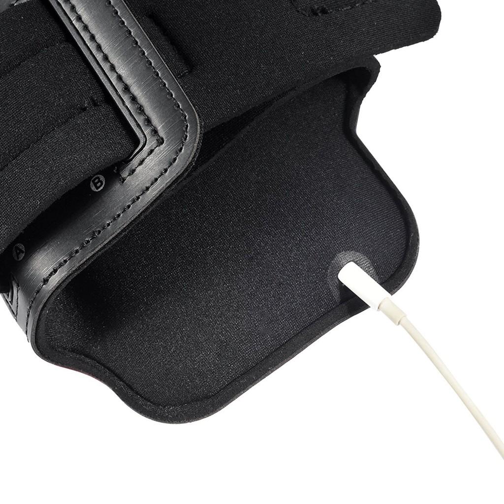 Univerzální sportovní pouzdro (ArmBand) - černé, velké