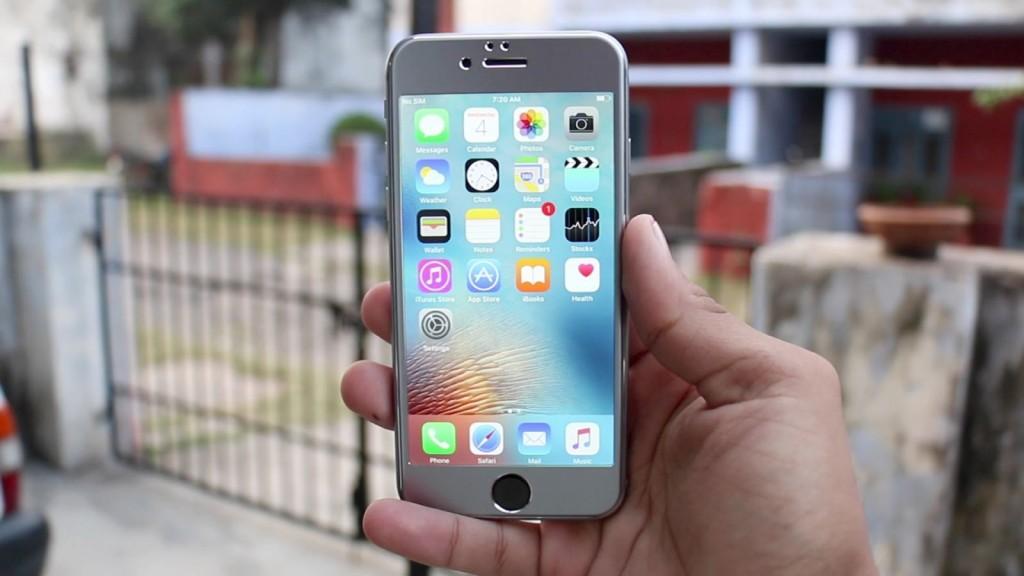 3D Tvrzené sklo Titanium pro iPhone 6s Plus / 6 Plus