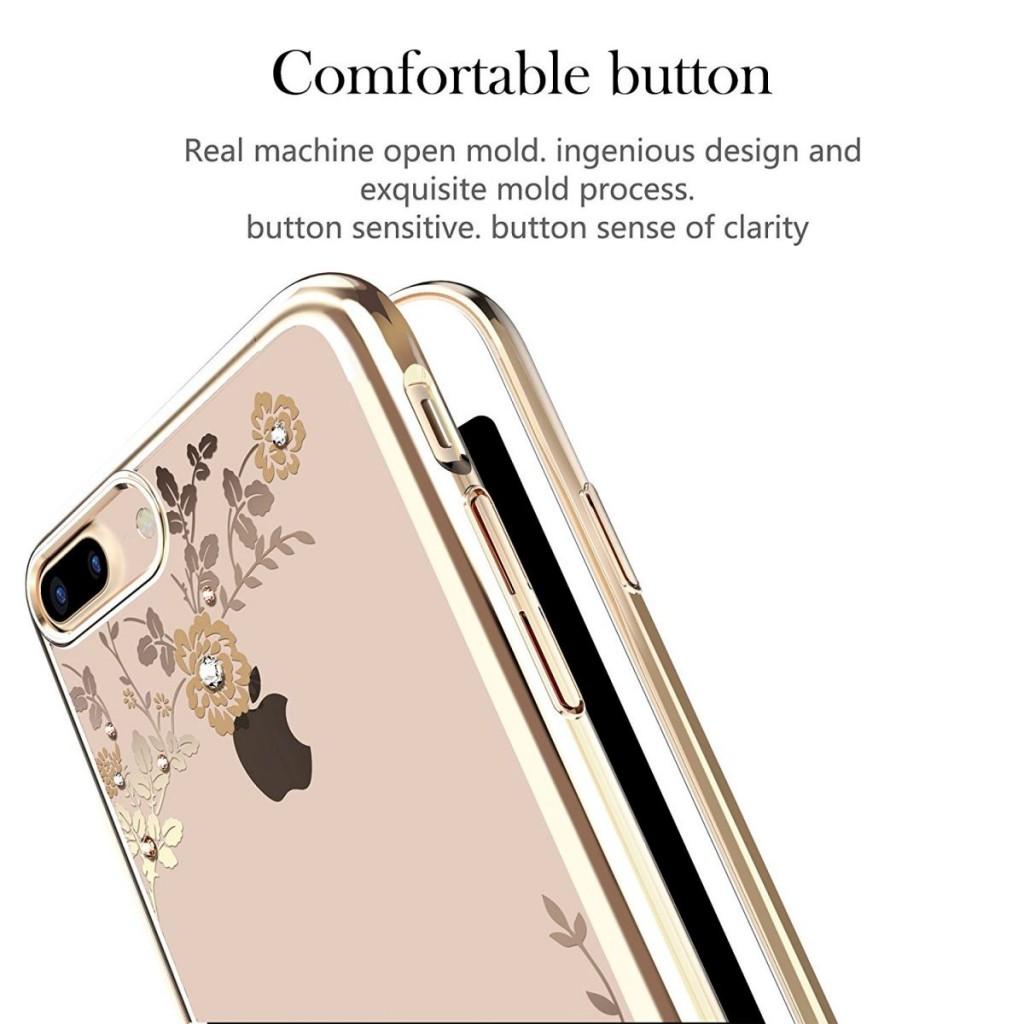 Obal / kryt Crystal Flowers pro iPhone 6s Plus / 6 Plus