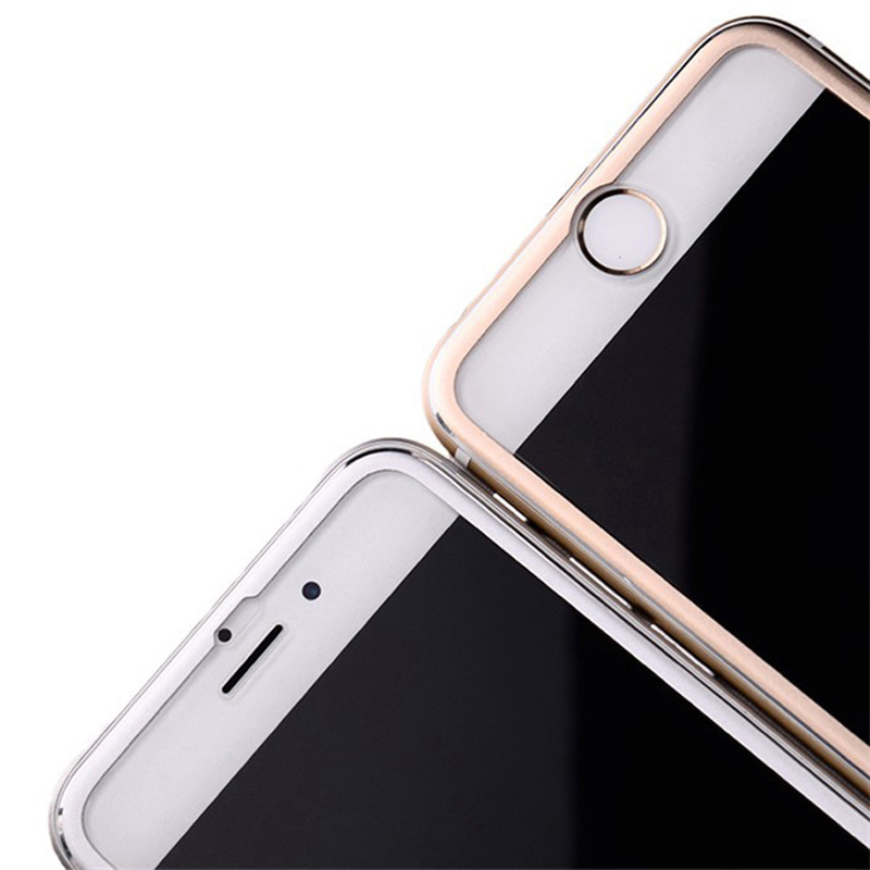 3D Tvrzené sklo Ring na celý displej pro iPhone 6s/6