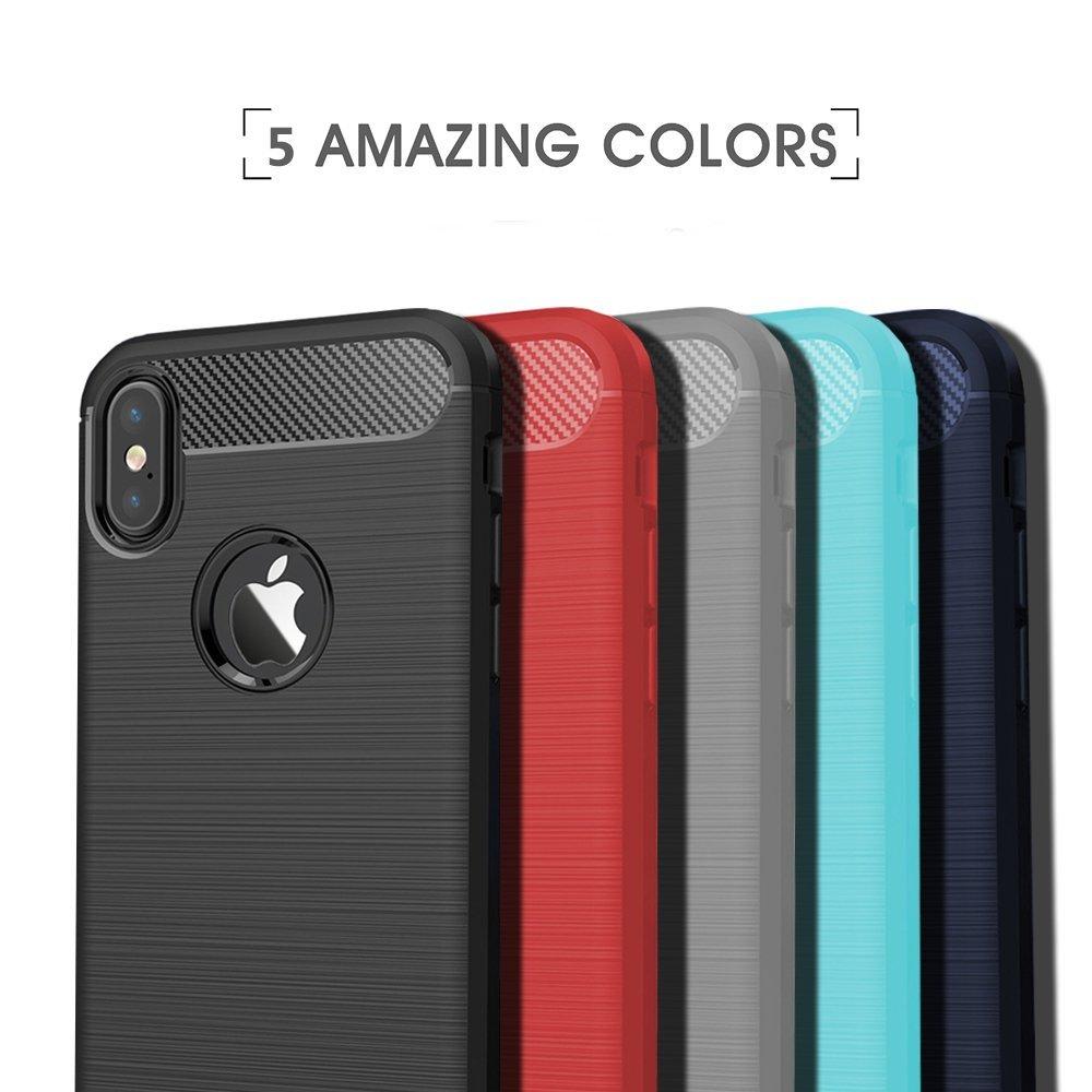 Stylový obal / kryt Carbon Armor pro iPhone X