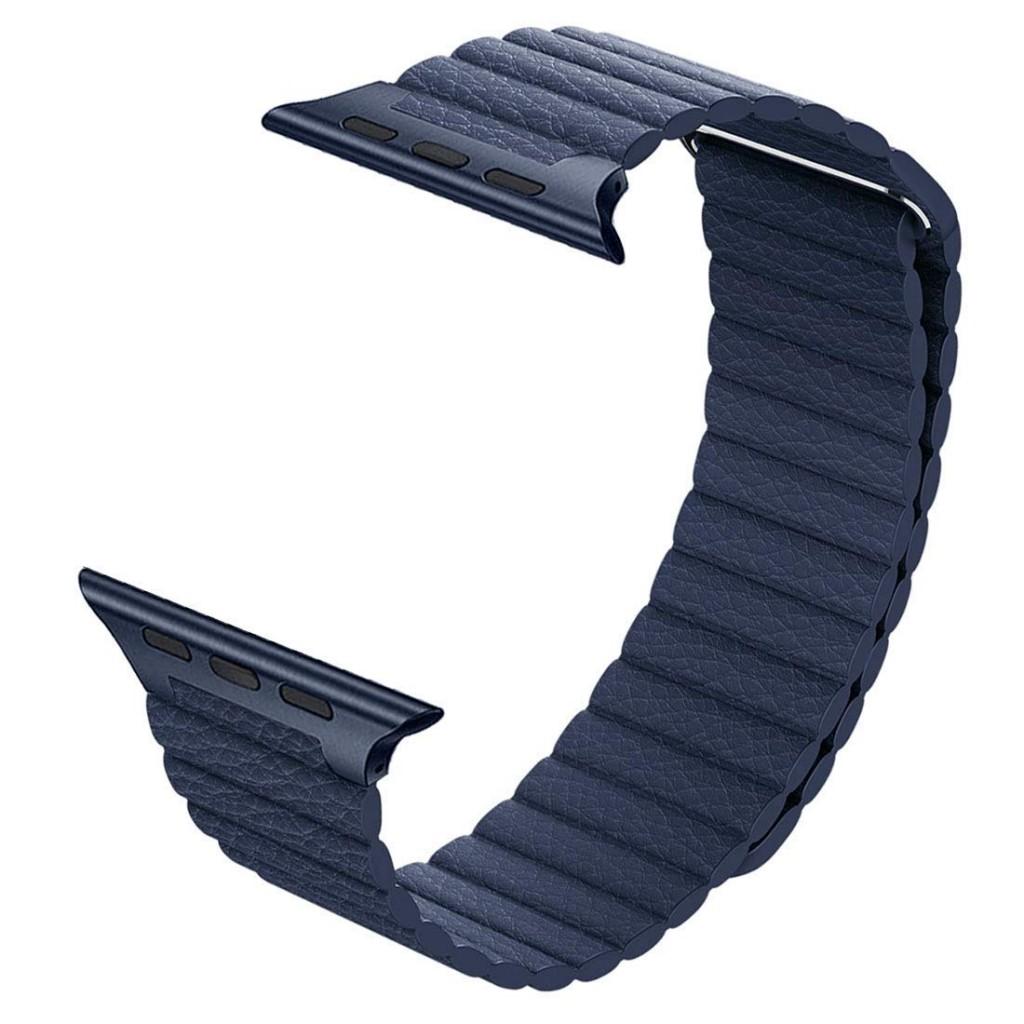 Kožený řemínek Leather Loop na Apple Watch Series 4 (44mm)