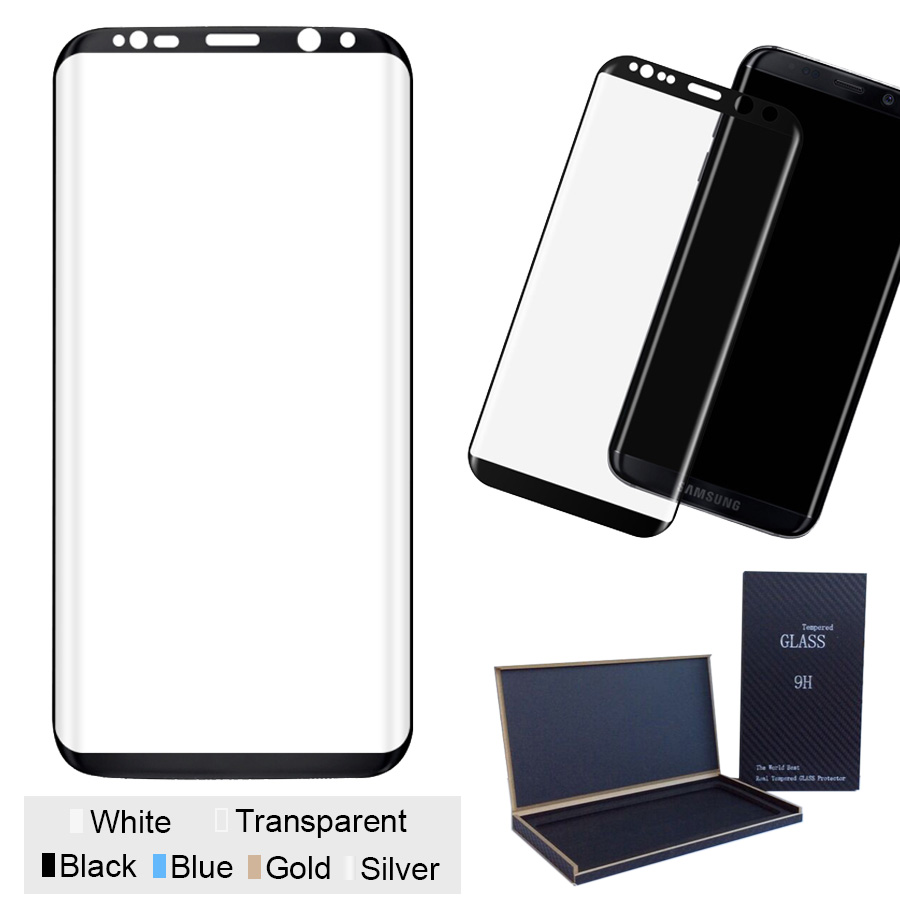 3D Tvrzené sklo 9H na celý displej pro Galaxy S8 Plus (S8+)