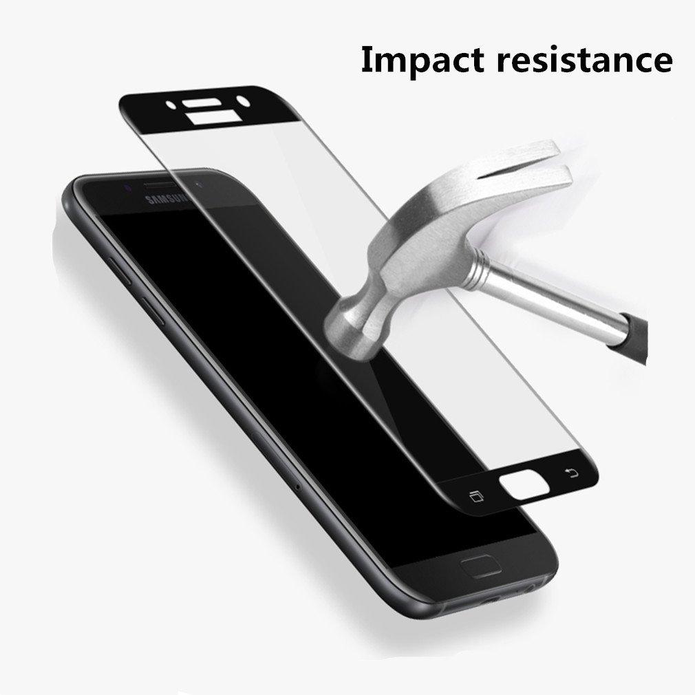 3D Tvrzené sklo 9H na celý displej pro Galaxy A3 (2017)
