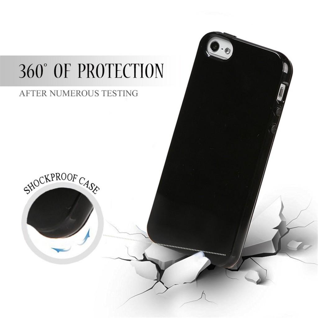 Obal Jet Black pro Apple iPhone 7 Plus