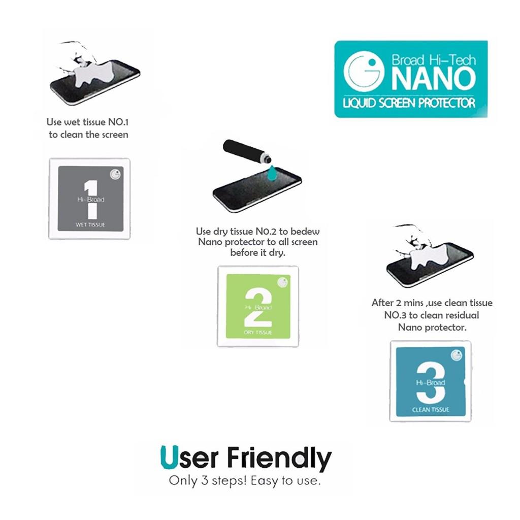 Broad Hi-Tech Nano - Tekutá ochrana displeje