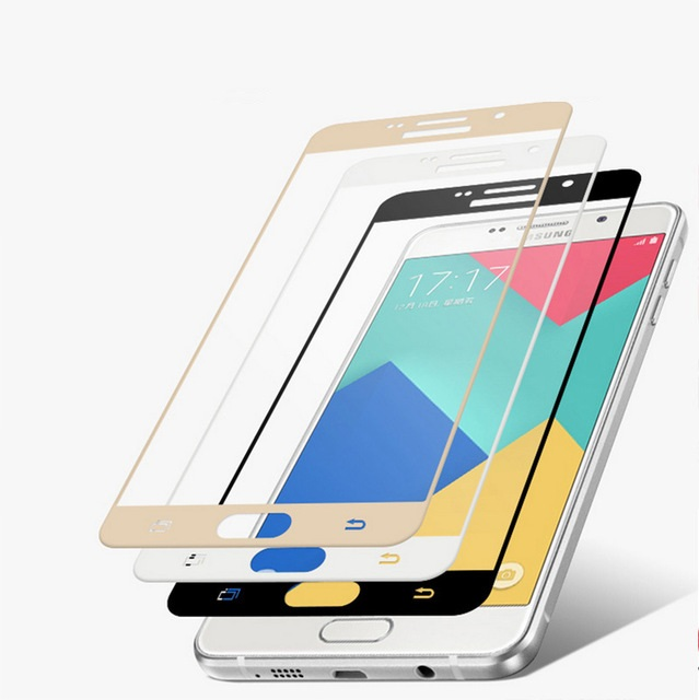 3D ochranné sklo Carbon Fiber na displej Samsung Galaxy A3 (2016)