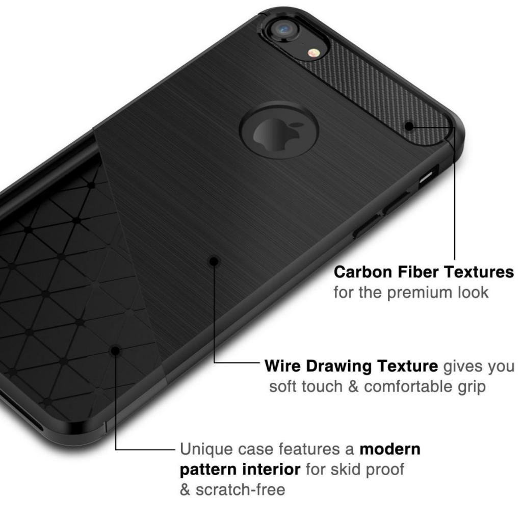 Odolný kryt Carbon Armor pro iPhone SE / 5s / 5