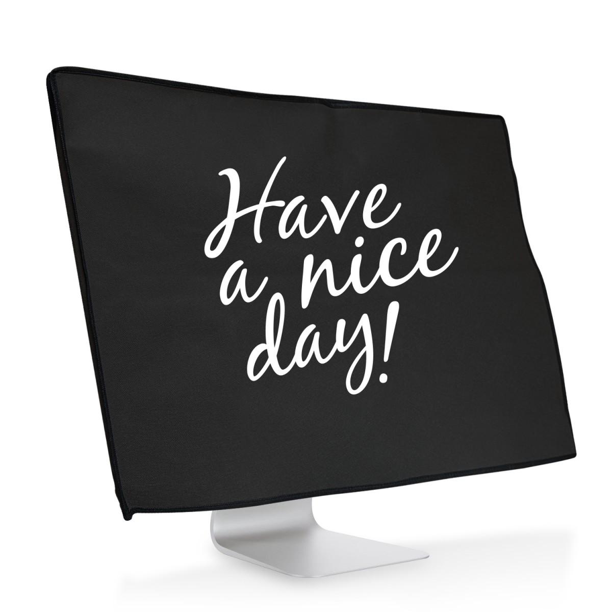 Ochranný návlek Have a nice day! na iMac 27