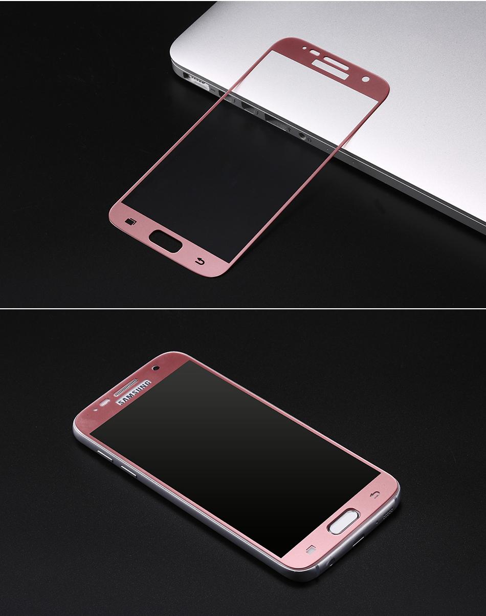 Tvrzené sklo FullCover pro ochranu displeje Samsung Galaxy S7