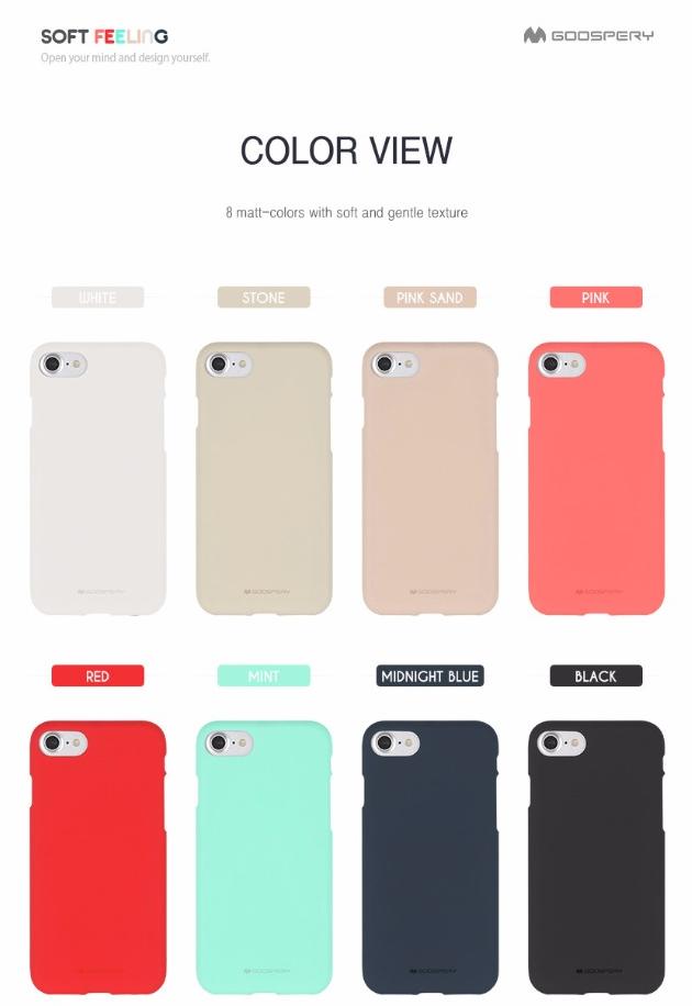 Obal / kryt Mercury Soft Feeling pro Apple iPhone 8 / 7