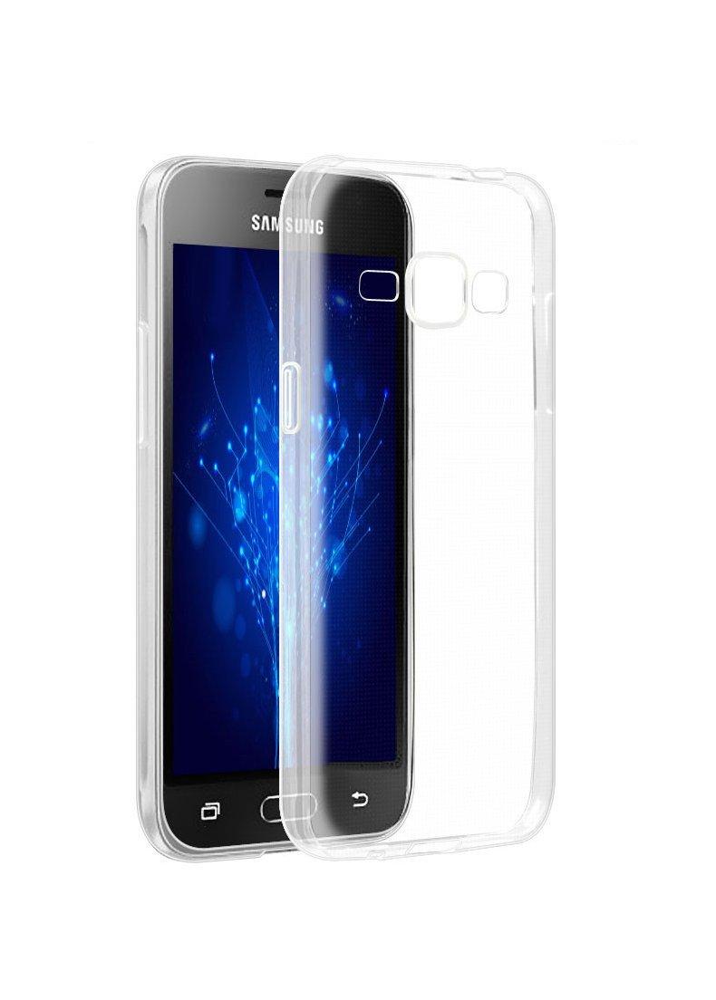 Silikonový obal / kryt Goospery Mercury pro Samsung Galaxy J1 (2016), čirý