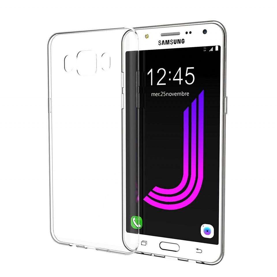 Silikonový obal / kryt Goospery Mercury pro Samsung Galaxy J7 (2016), čirý