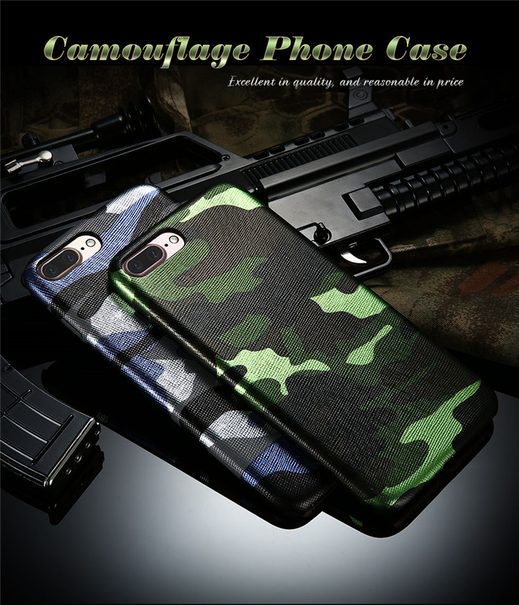 Kryt Army Camouflage pro iPhone SE / 5s / 5