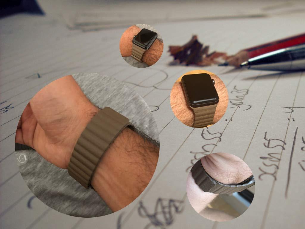 Kožený řemínek Leather Loop na Apple Watch Series 3/2/1 (42mm)