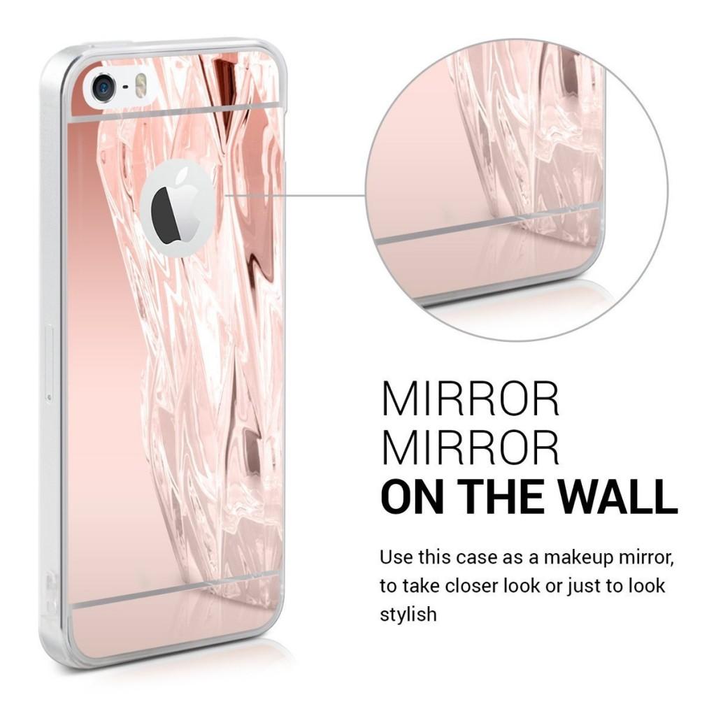 Zrcadlový obal / kryt My Mirror pro iPhone SE / 5s / 5