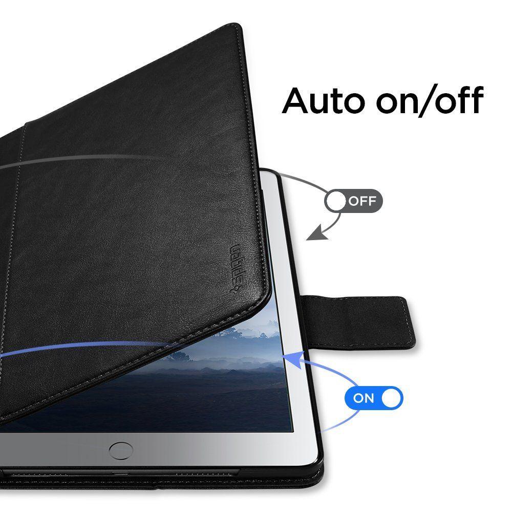 Pouzdro Spigen Stand Folio na Apple iPad 9.7