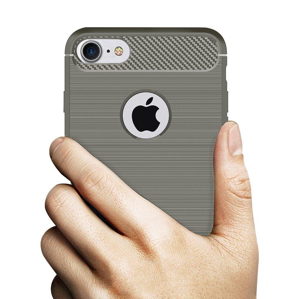 Odolný kryt Carbon Armor pro iPhone 7