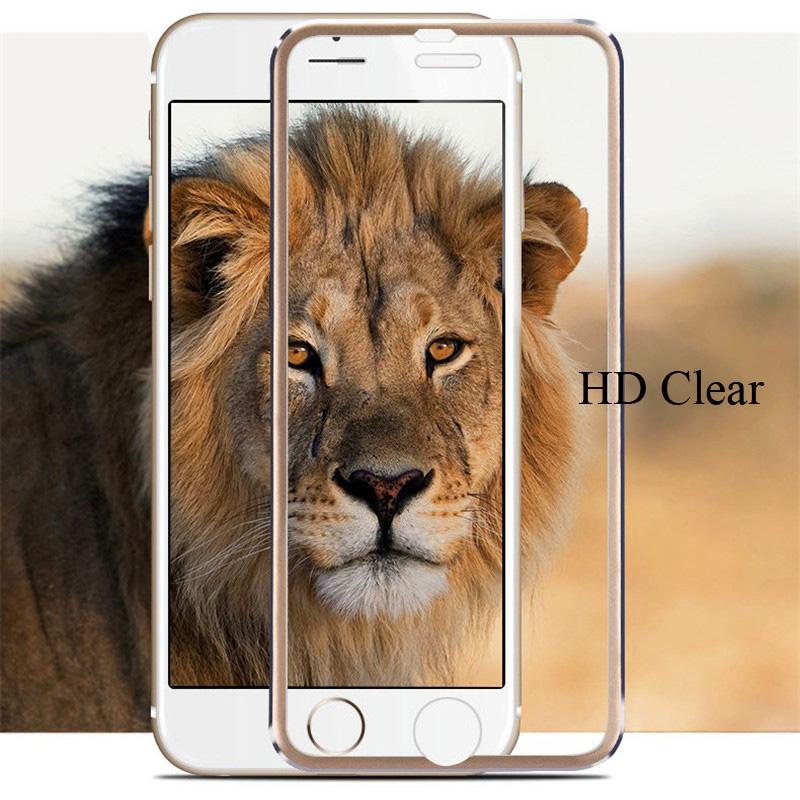 3D Tvrzené sklo Ring na celý displej pro iPhone 7