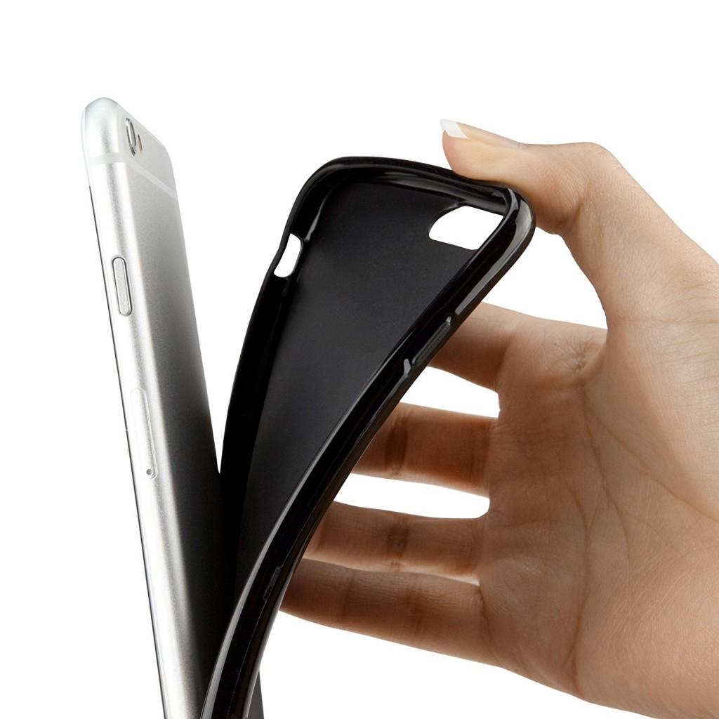 Obal Jet Black pro Apple iPhone 8 / iPhone 7