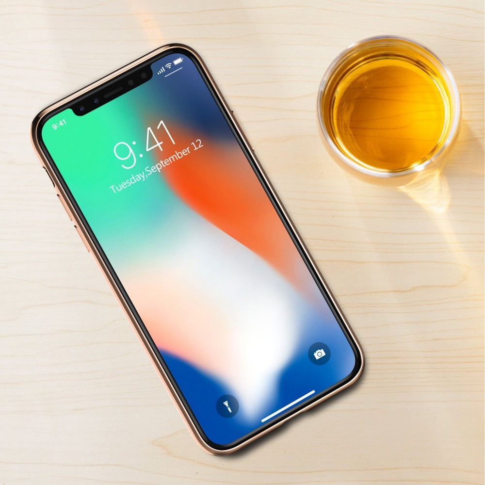 Elegantní obal / kryt RING na Apple iPhone X