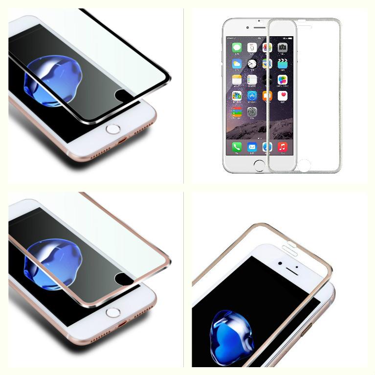 3D Tvrzené sklo Ring na celý displej pro iPhone 8 / 7