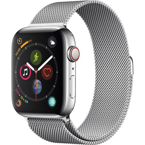 Řemínek Milánský tah - Milanese Loop k Apple Watch Series 4 40mm