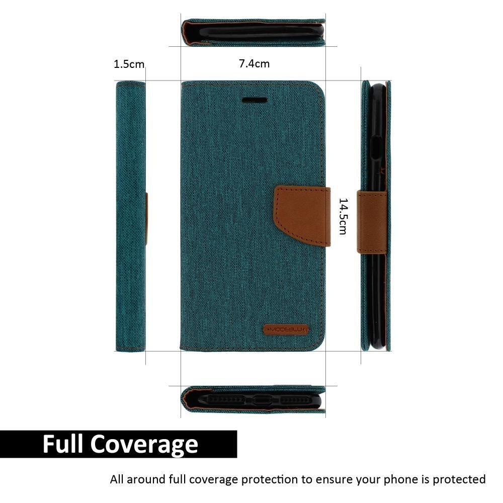 Pouzdro Kabura Canvas Book pro Apple iPhone 6s Plus / 6 Plus