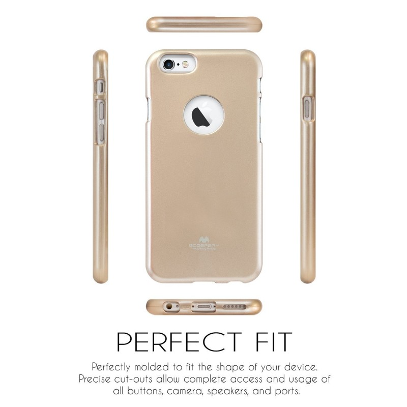 Silikonový obal / kryt Jelly Case Goospery Mercury Apple iPhone 6s Plus / 6 Plus