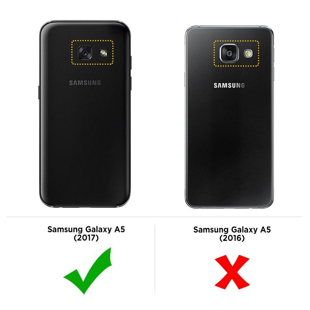 Silikonový obal / kryt Goospery Mercury pro Samsung Galaxy A5 (2017), čirý