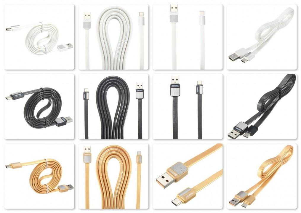 Datový a nabíjecí USB kabel REMAX Metal RC-044m s Micro USB