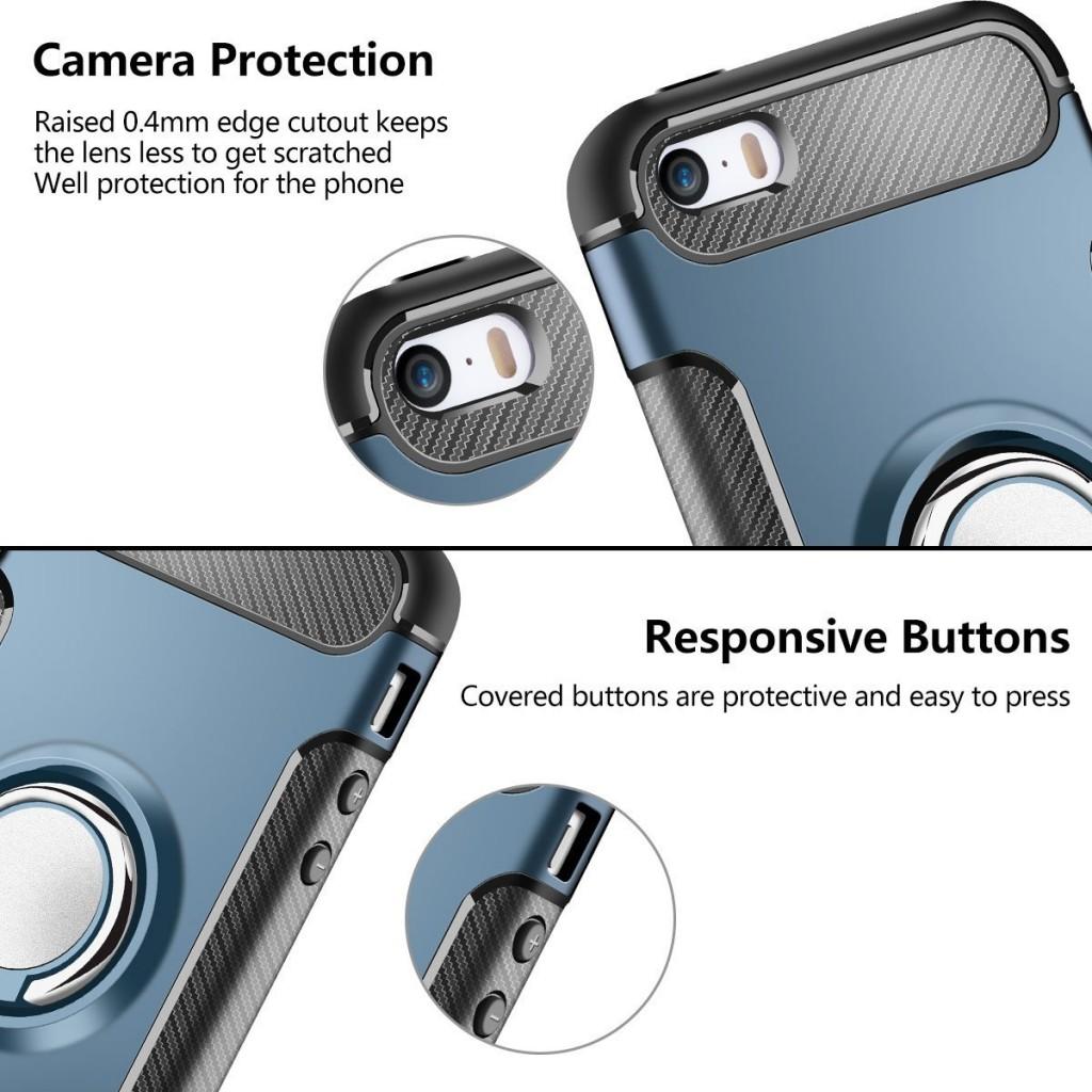 Multifunkční kryt Magneto pro Apple iPhone SE/5s/5