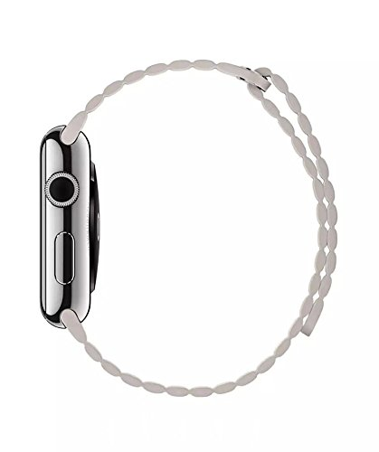 Kožený řemínek Leather Loop na Apple Watch Series 4 (40mm)