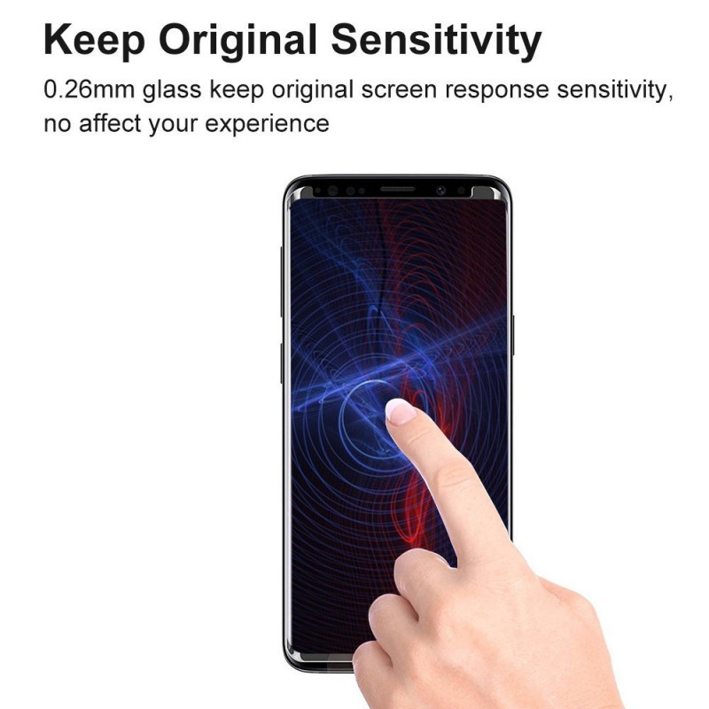3D Ochranné sklo Magic Glass Full Glue na displej Galaxy S9