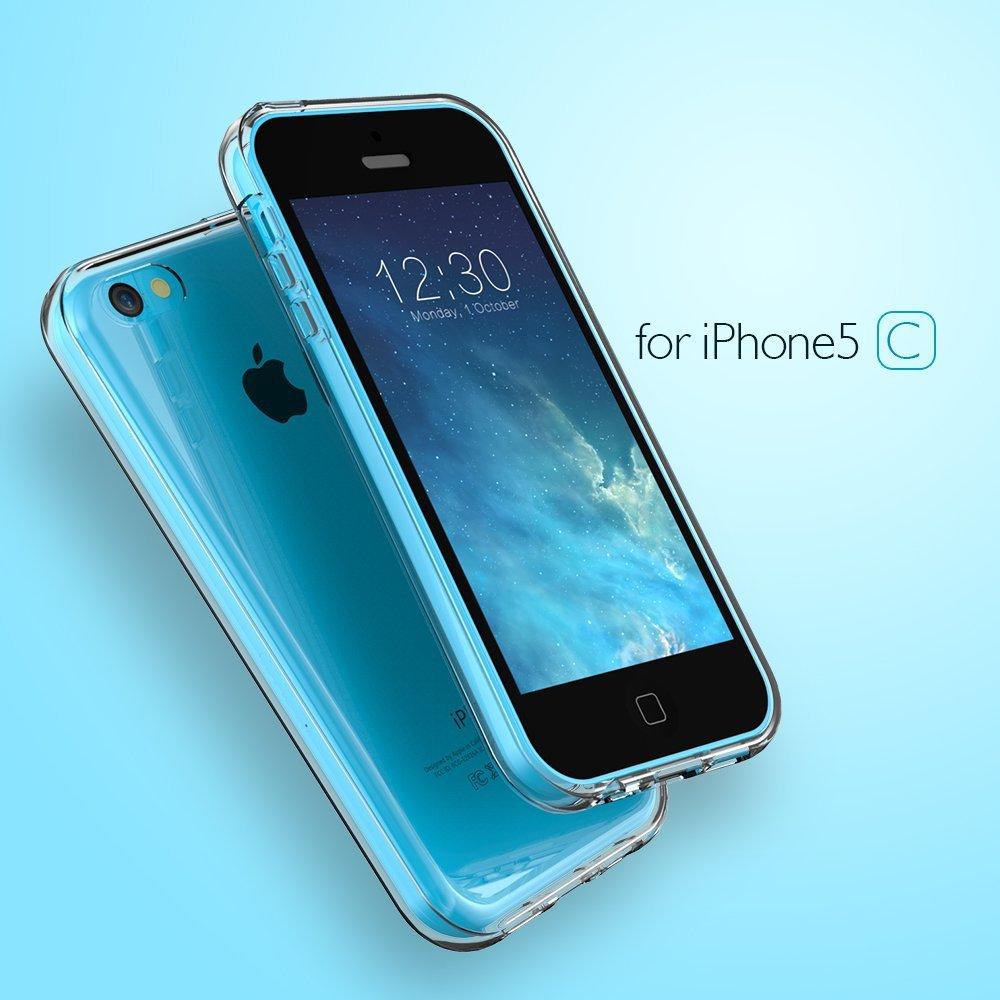 Silikonový čirý obal / kryt BASIC pro iPhone 5c