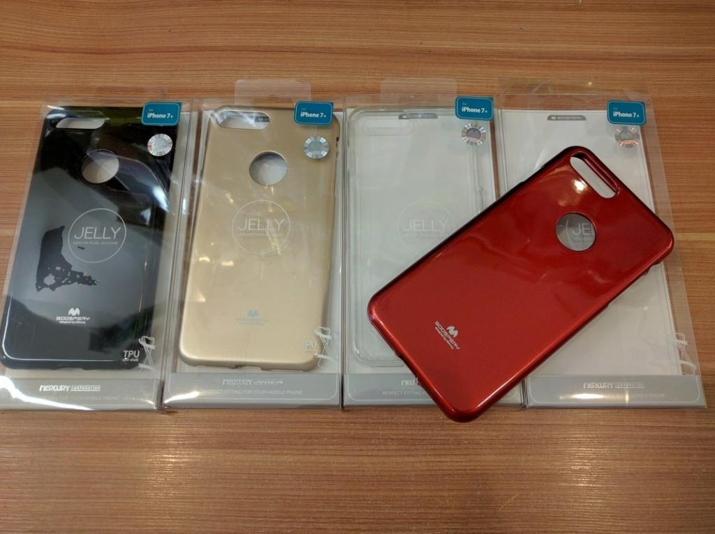 Silikonový obal Jelly Case Goospery Mercury Apple iPhone 8/7