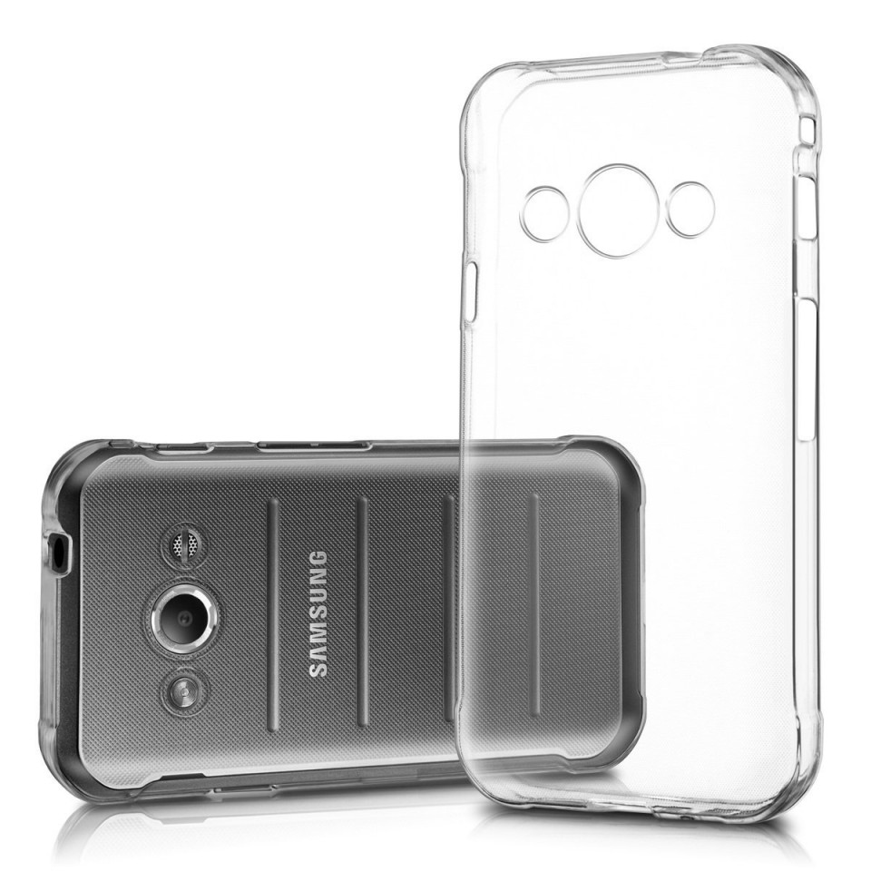 Silikonový obal / kryt Jelly Mercury pro Samsung Galaxy Xcover 3, čirý