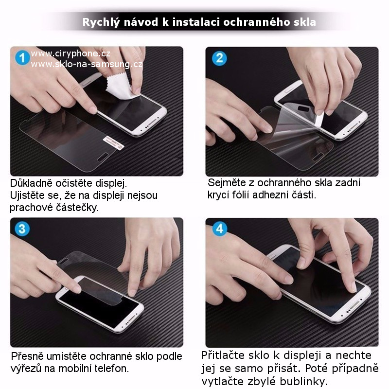 Ochranné tvrzené sklo pro Samsung Galaxy Trend / Trend Plus / Trend Lite