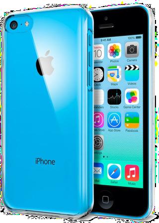 Průhledný čirý obal / kryt Ultra Slim Hybrid pro iPhone 5c