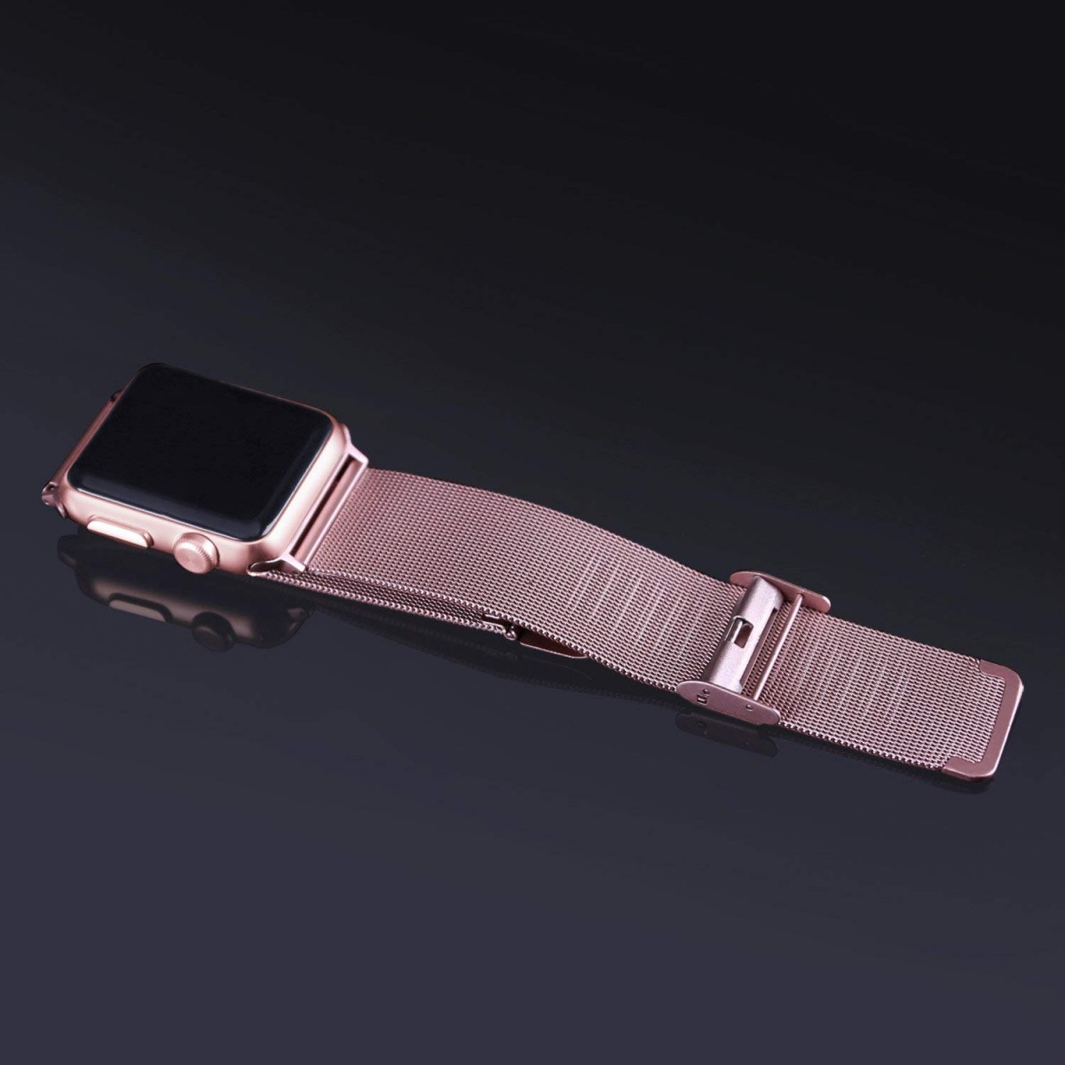 Řemínek MILANESE CLASSIC pro Apple Watch 42mm Series 1, 2, 3