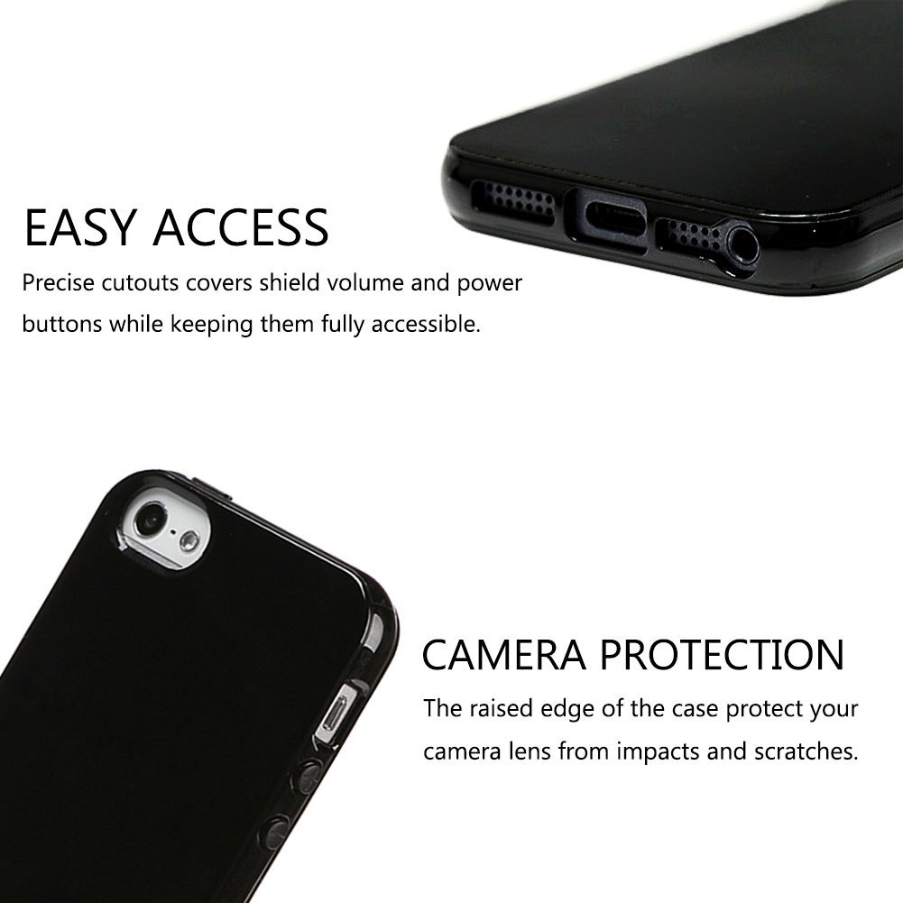 Kryt Jet Black pro iPhone 6s Plus / 6 Plus