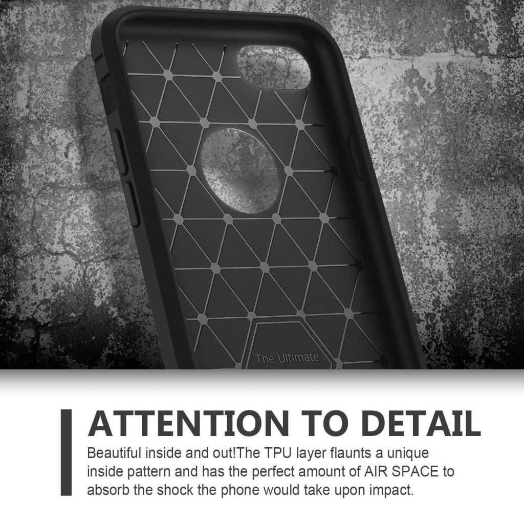 Stylový obal / kryt Carbon Armor pro iPhone 8 / 7