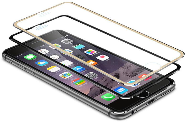 3D Tvrzené sklo Ring na celý displej pro iPhone 6s Plus / 6 Plus