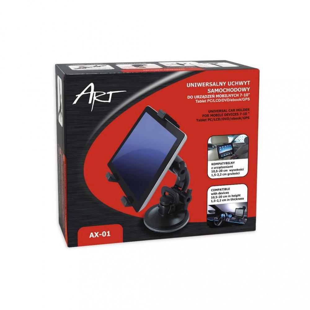 Držák do auta ART AX-01 2v1 na tablety 7