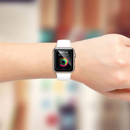 Tvrzené sklo PRO+ 9H na Apple Watch 38mm Series 1, 2, 3