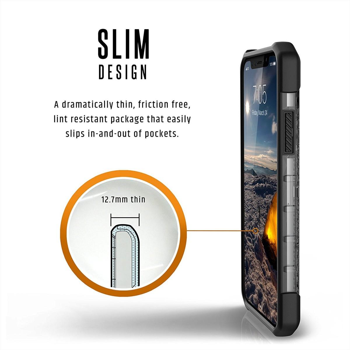 Odolný ochranný kryt UAG Plasma na Apple iPhone X