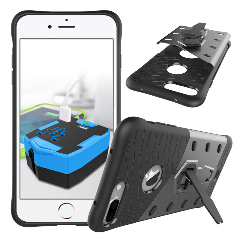 Odolný kryt SNIPER se stojánkem pro Apple iPhone 6s Plus / 6 Plus