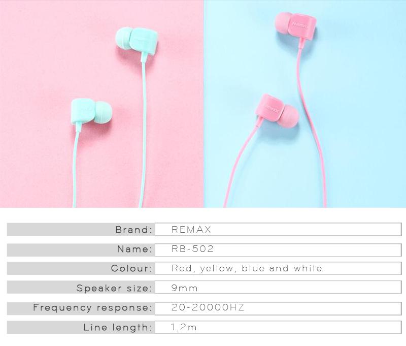 Sluchátka Remax Crazy Robot RM-502