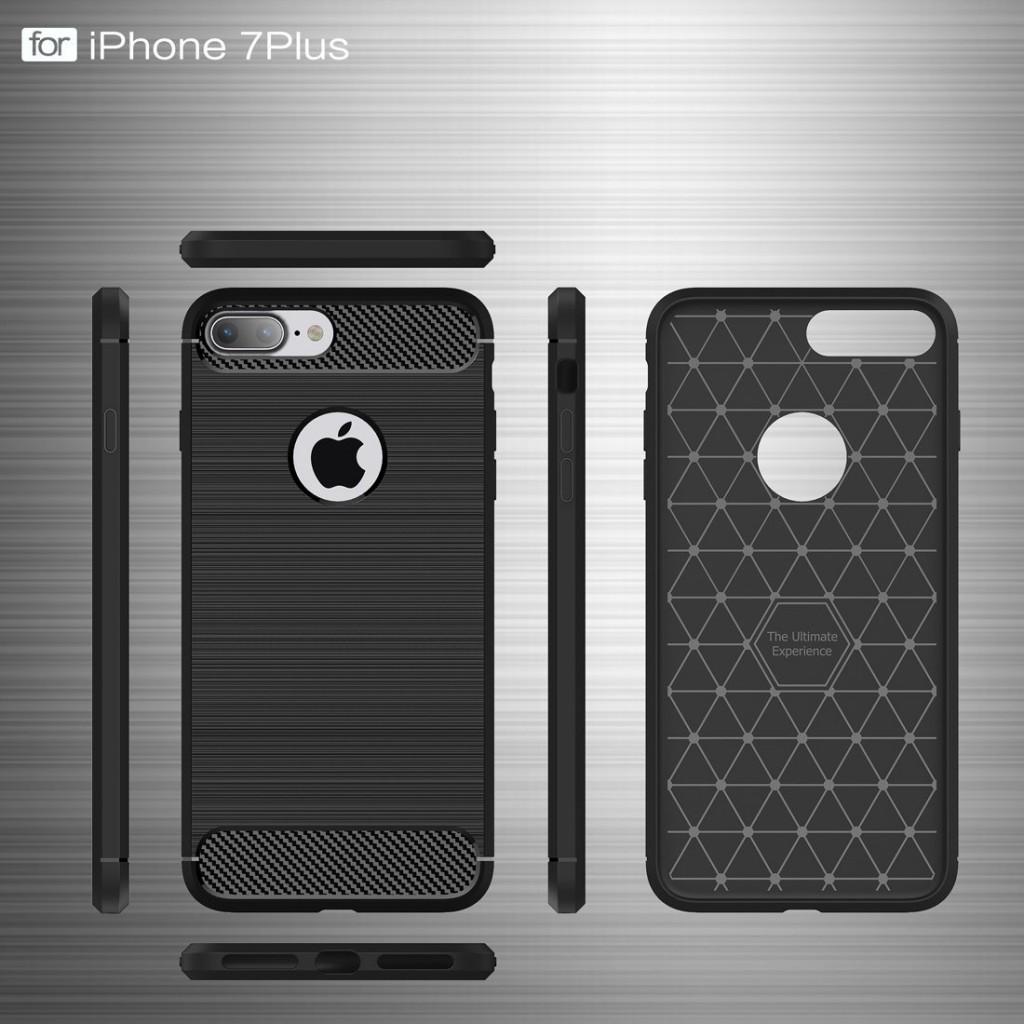 Stylový kryt Carbon Armor pro iPhone 8 Plus / 7 Plus