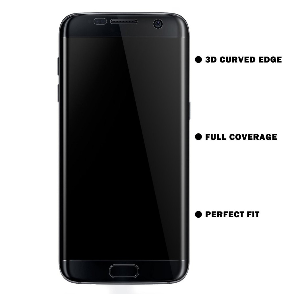 3D fólie na celý displej CLEAR - Galaxy S6 Edge (set 2ks)